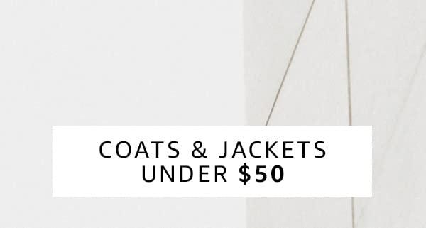 Coats & Jackets Under $50