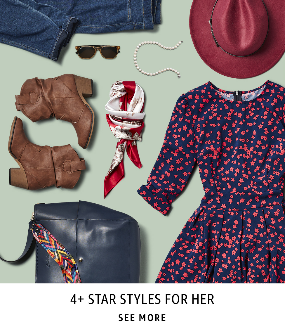 4+ Star Styles For Her