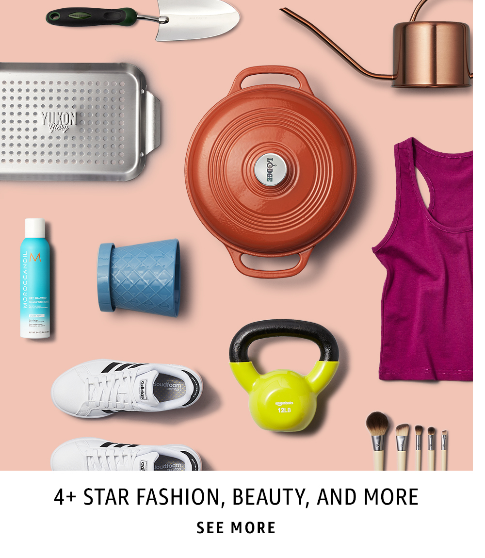 4+ Star Fashion, Beauty, and More