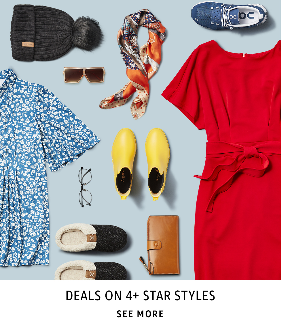 Deals on 4+ Star Styles