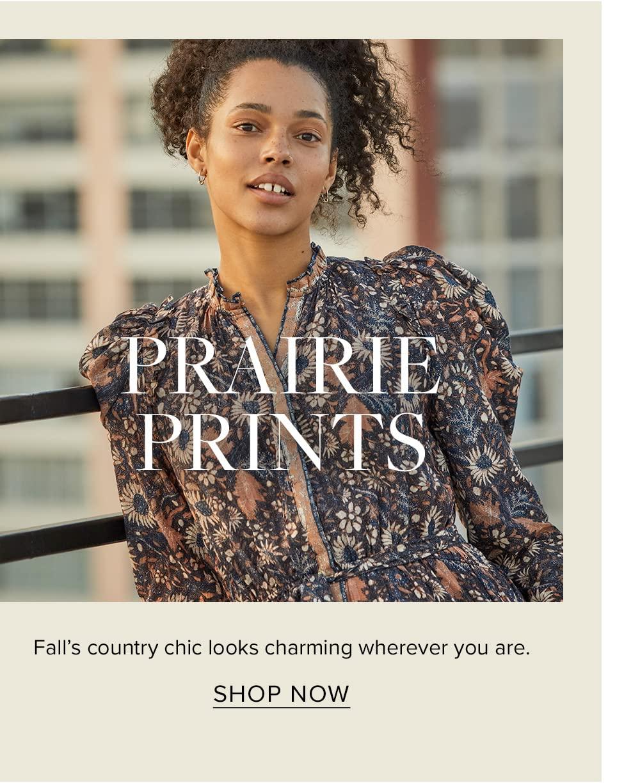 Prairie prints