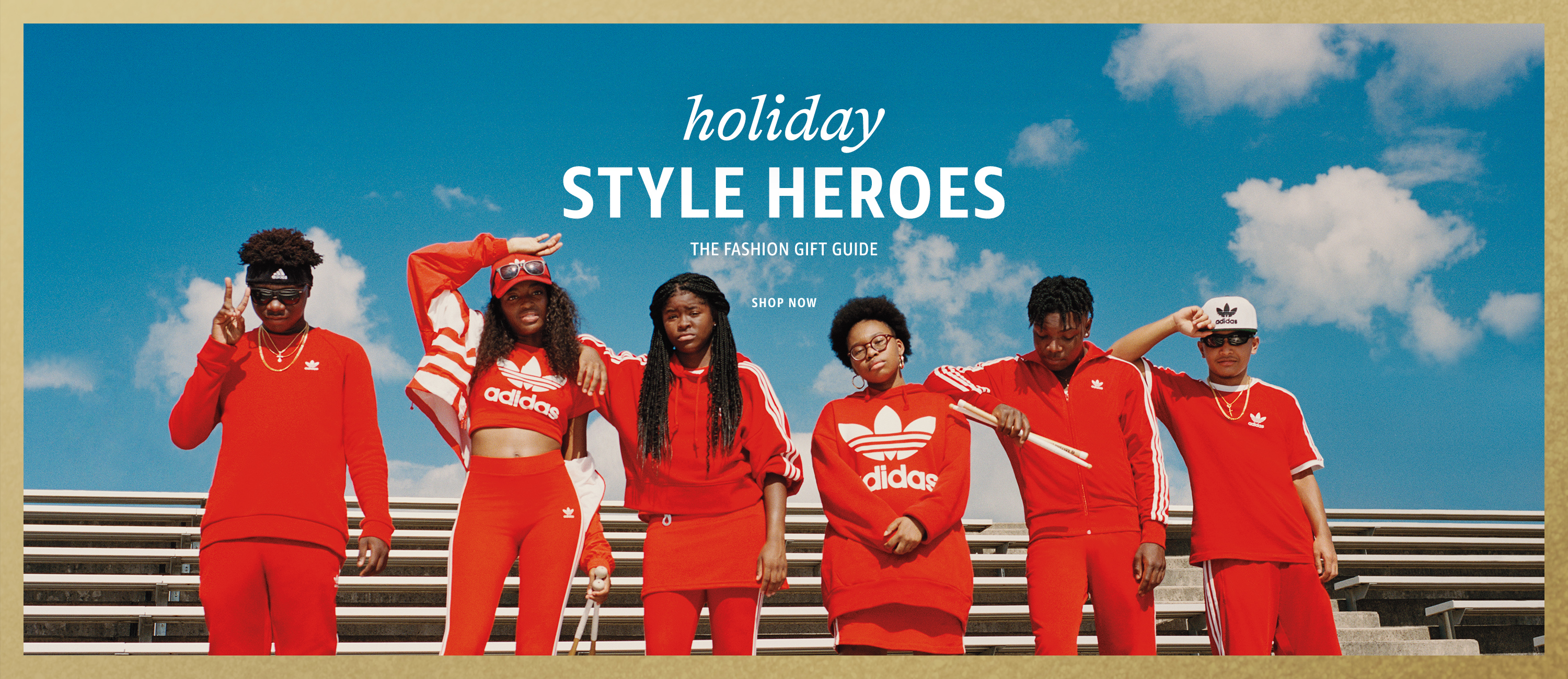 Holiday Style Heroes. The Fashion Gift Guide. Shop Now