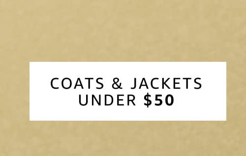 Coats & Jackets under 50