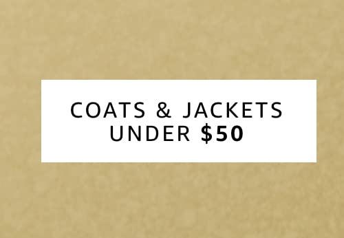 Coats and Jackets under 50