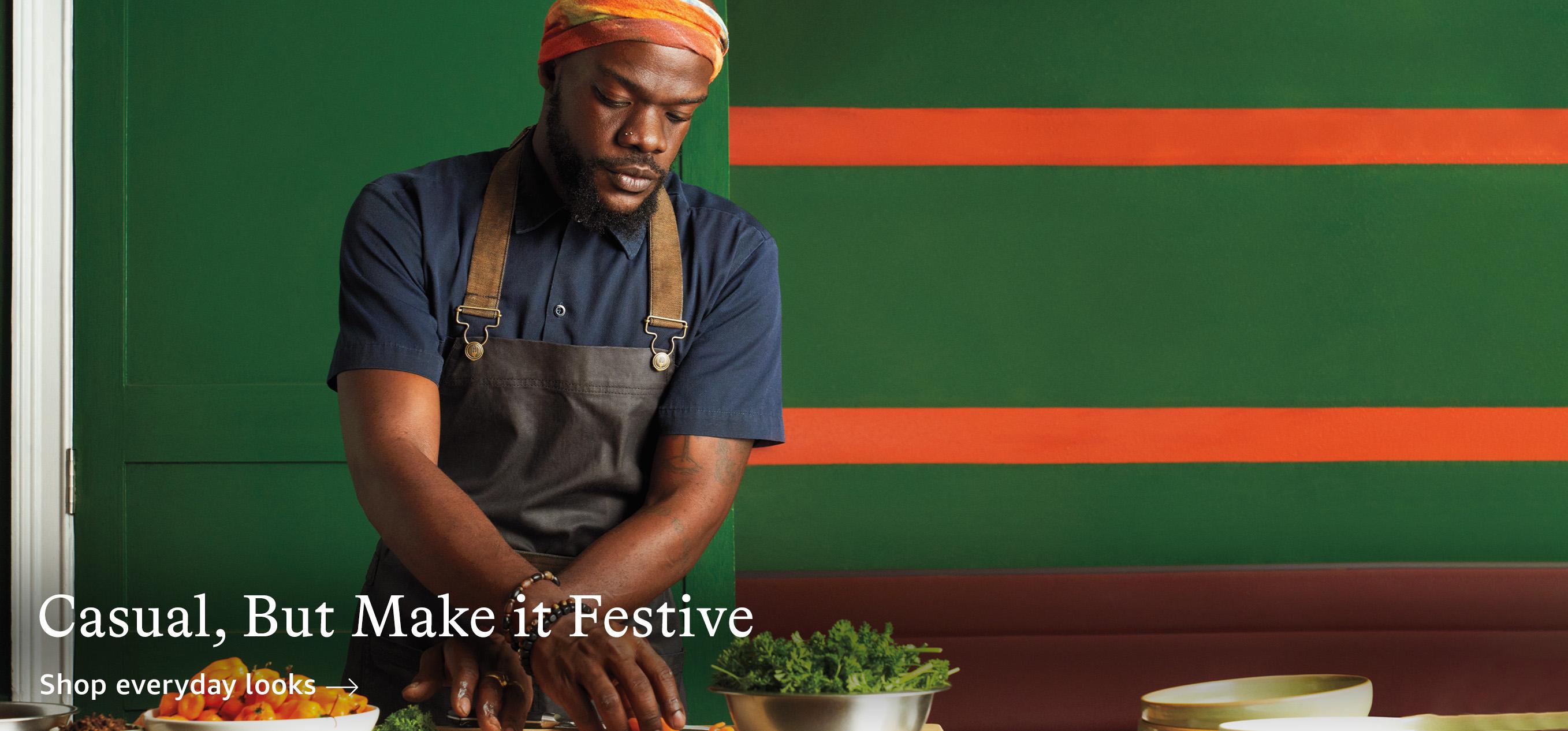 Casual, But Make it Festive