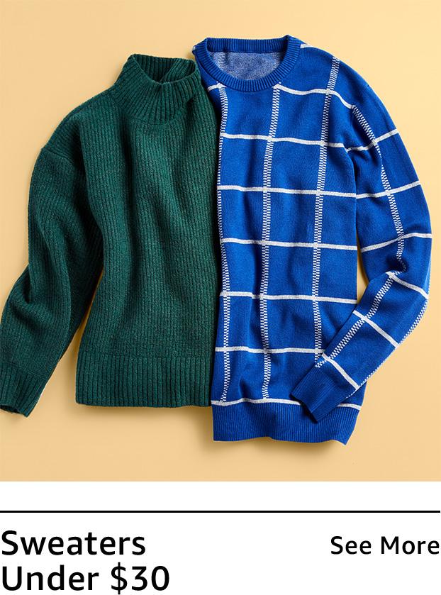 Sweaters under $30