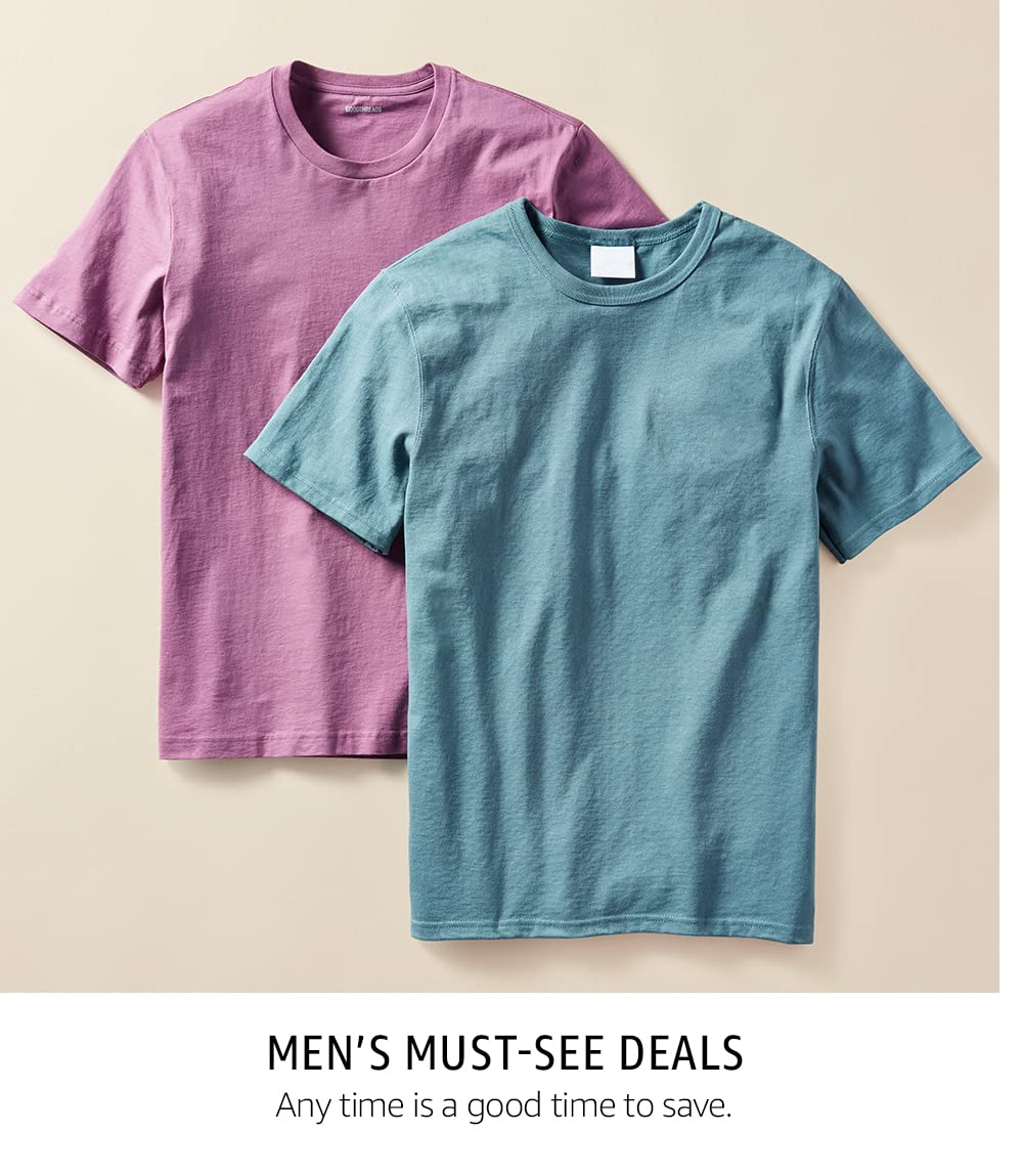 Men's Must-See Deals