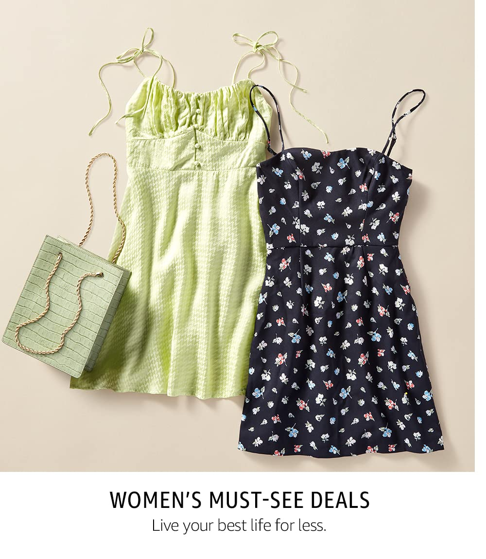 Women's Must-See Deals