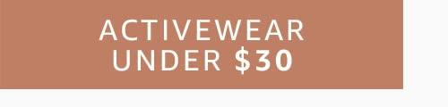 Activewear Under $30
