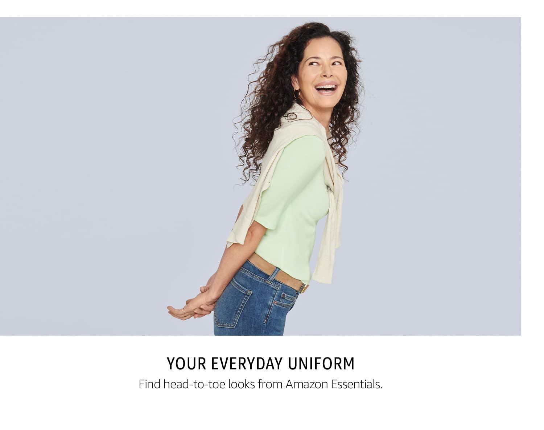 Your Everyday Uniform: Amazon Essentials