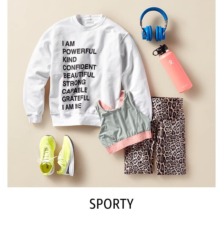 Women's Shop by Style: Sporty