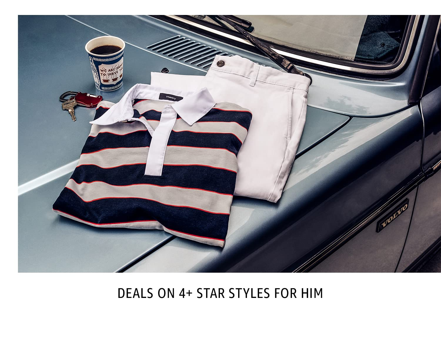 Deals on 4+ star styles for him