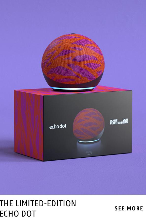 Diane von Furstenburg on limited edition Echo Dots