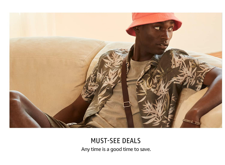 Men's Must-See Deals