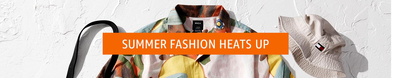 Summer fashion heats up