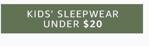 Kids' Sleepwear