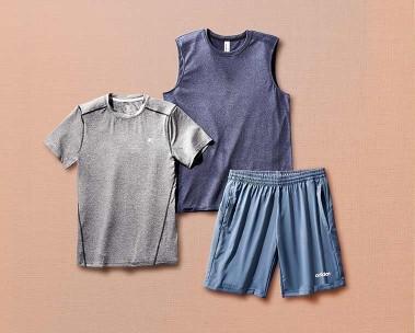 Hit refresh with men's activewear
