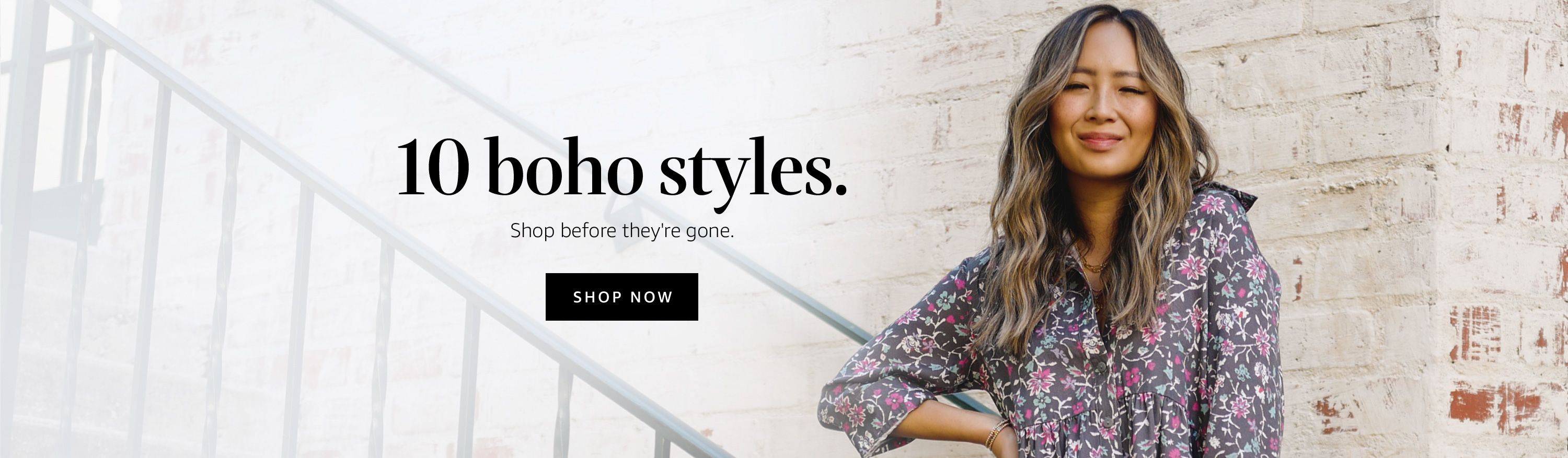 10 boho styles. Shop before they're gone