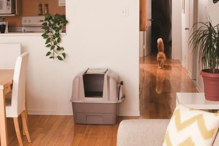 hagen catit hooded cat litter box. SmartSift Includes A Custom-fit Biodegradable Liner For The Cat Pan As Well One Pull-out Waste Bin. Hagen Catit Hooded Litter Box