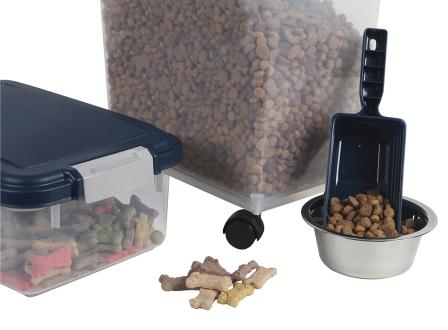 Pet Supplies Iris Airtight Pet Food Treat Storage