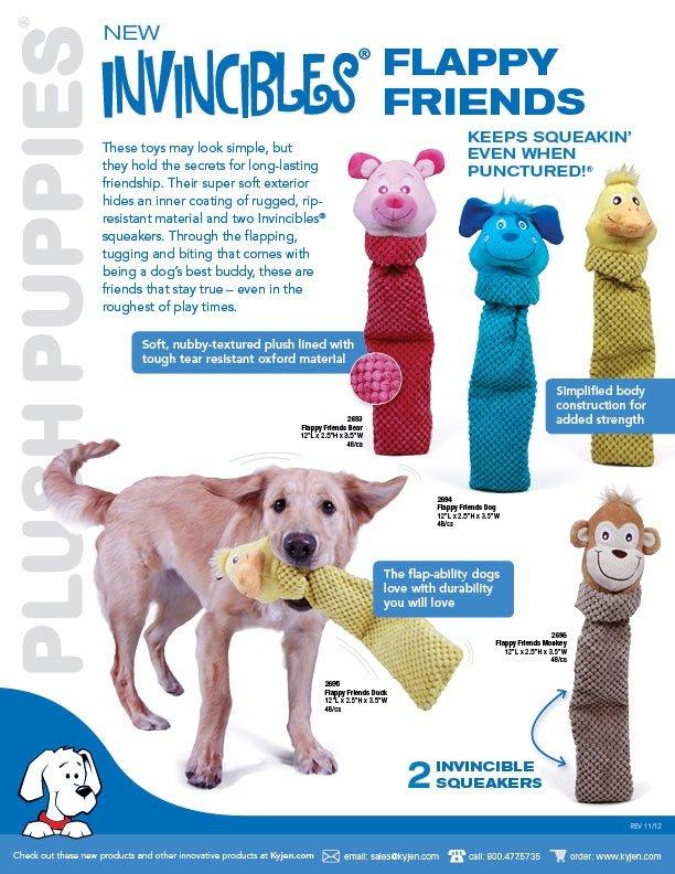 Pet Supplies : Kong Squeaky Dog Toys : Outward Hound Kyjen
