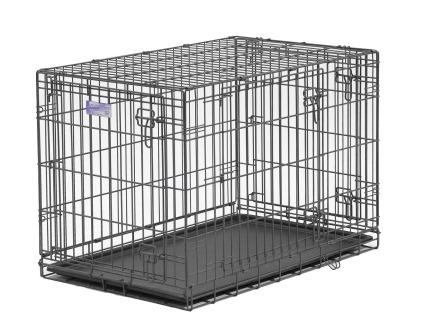 Amazon Midwest Select Triple Door Dog Crate 42 Inches By 28
