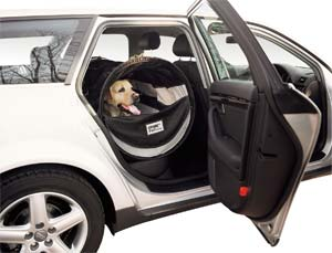 Pet Tube Car Kennel For Dogs