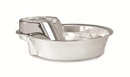SmartCat Big Max Stainless Steel Pet Water Fountain for Large Dogs