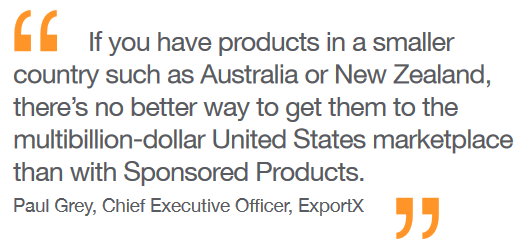 Quote from Paul Grey, CEO of ExportX