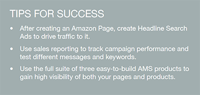 Tips for success while using Amazon Advertising