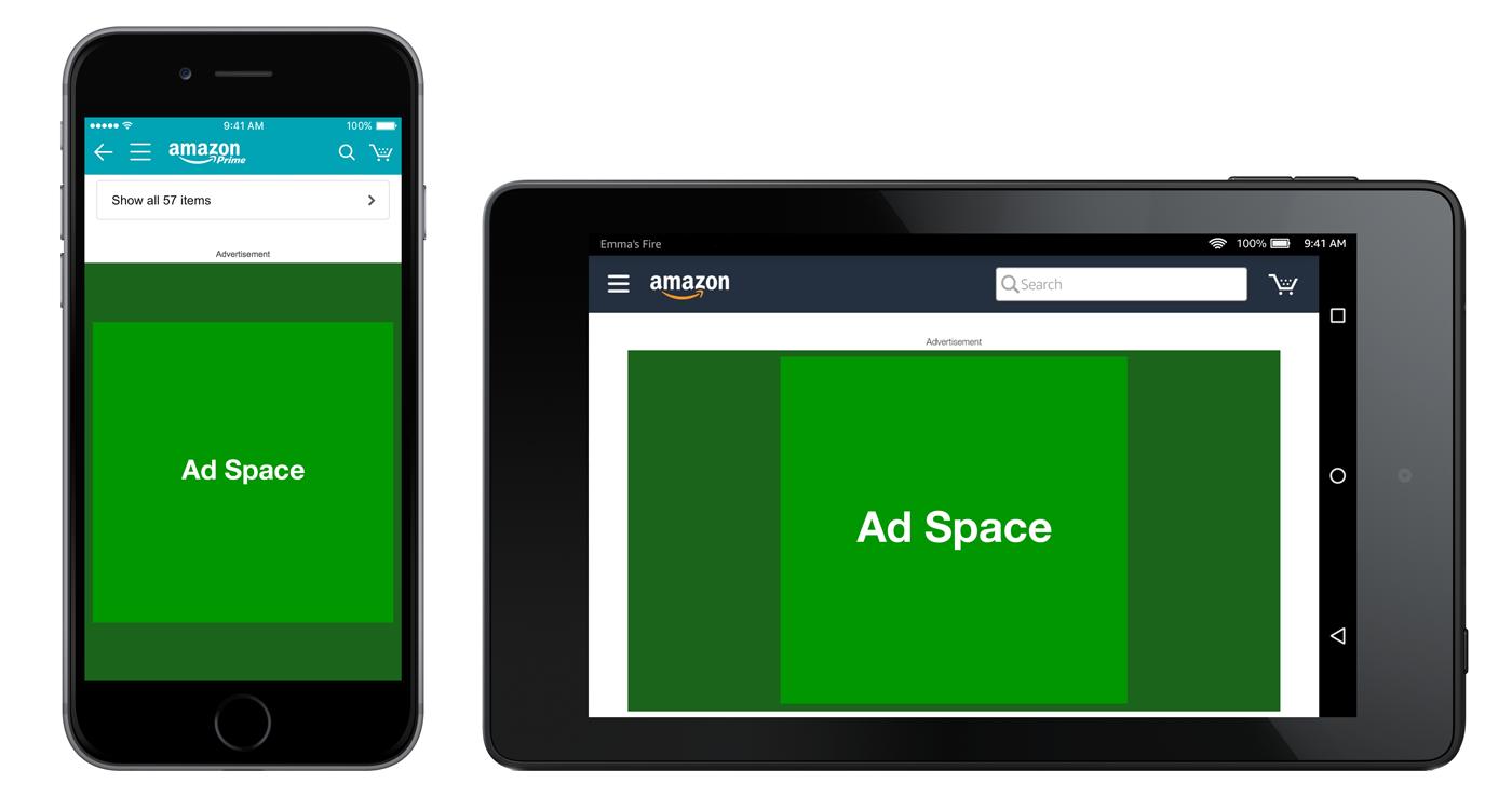 Page produit pour l'app d'achat