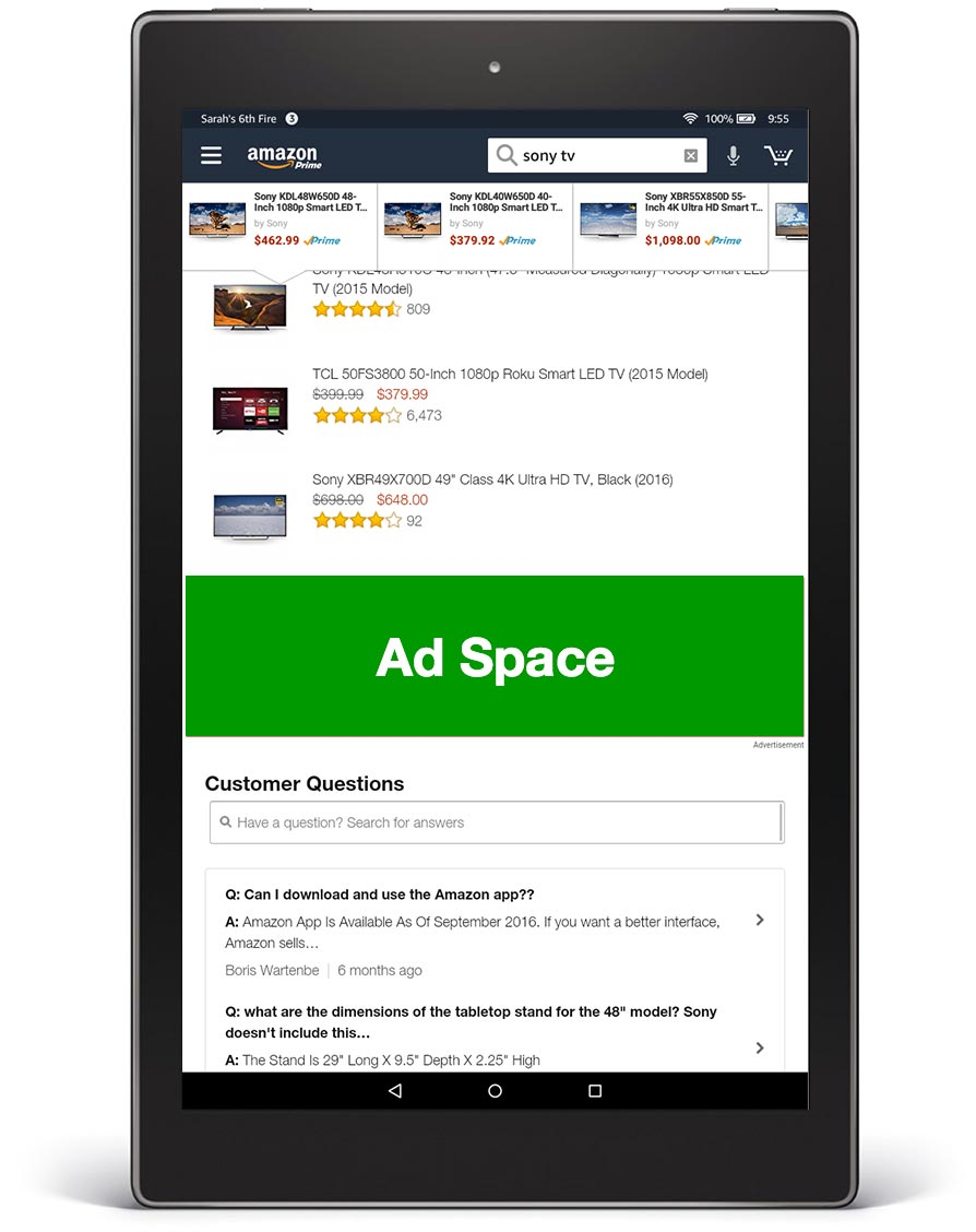 Fire Tablet Shopping App Detail Page 1940 x 500 px