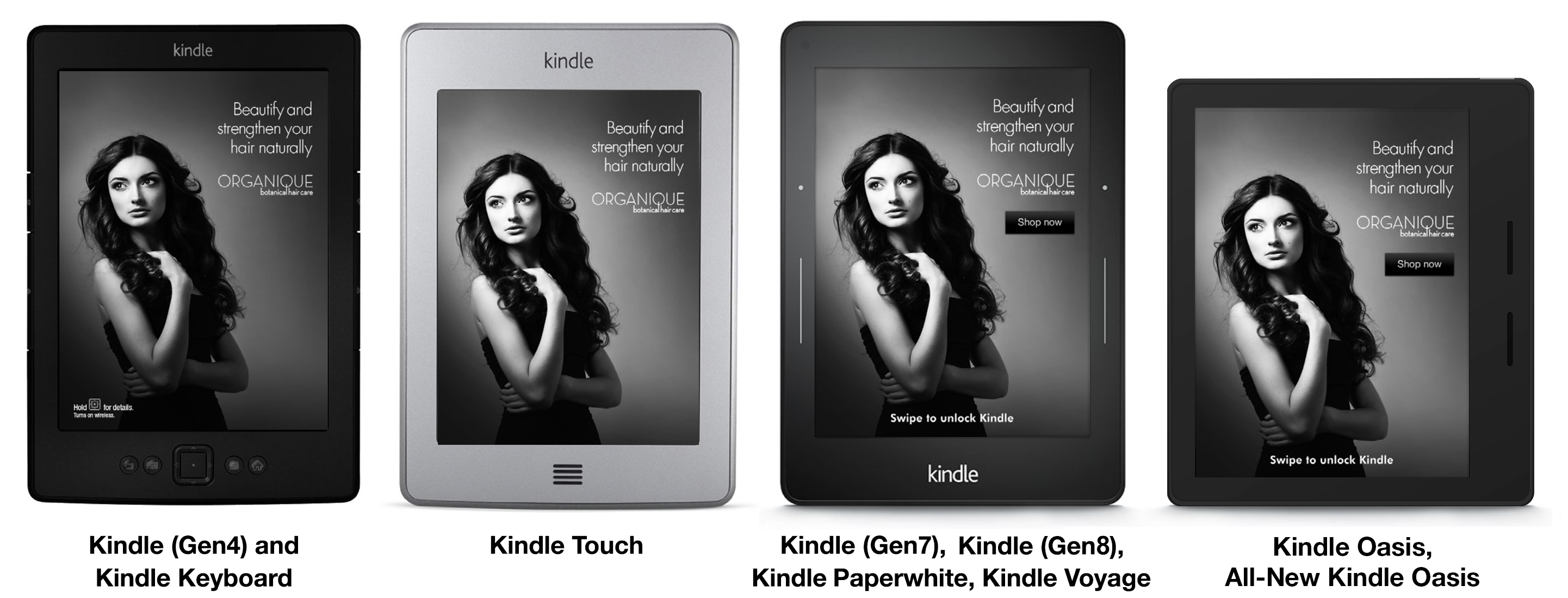Kindle Screen Savers Examples