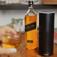Johnnie Walker collaborates with Amazon Alexa to help customers