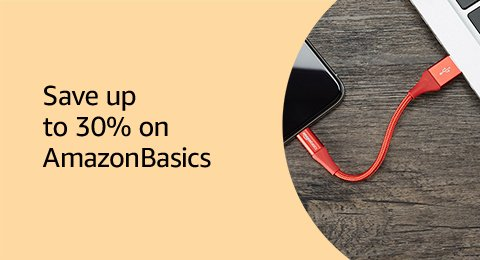 Save up to 30% on AmazonBasics