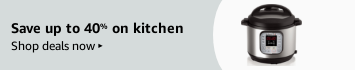 Save up to 40% on kitchen