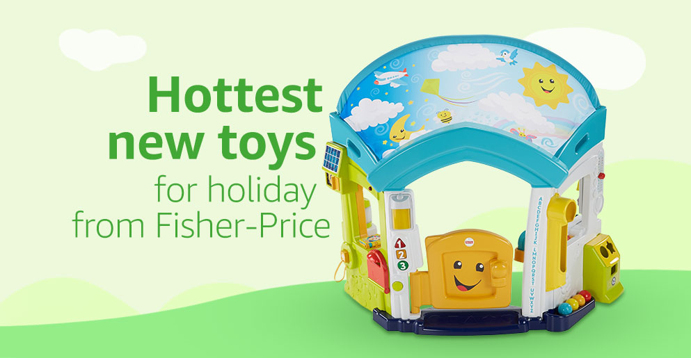 New fall toys from Fisher-Price