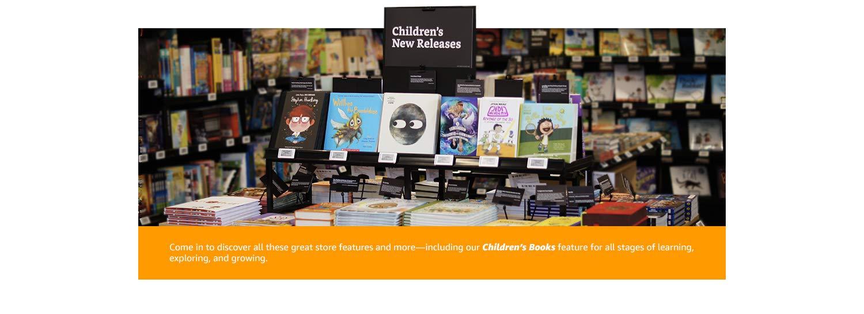 Children's books features
