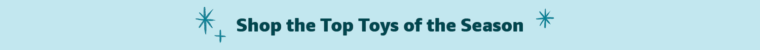 Top Toys of the Season