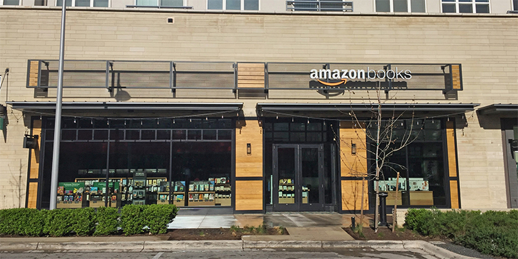 Amazon Books at Domain NORTHSIDE in Austin, Texas