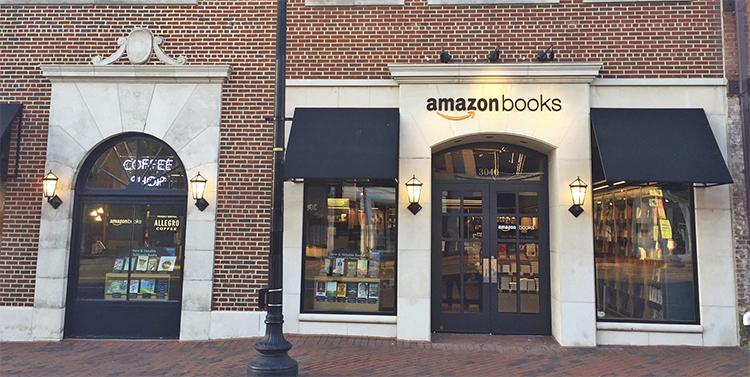 Amazon Books in Georgetown