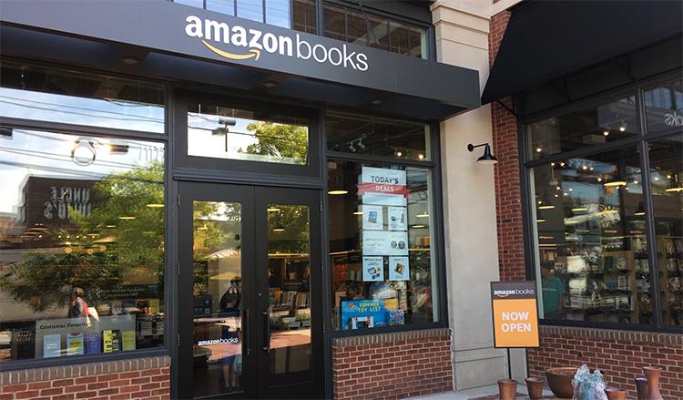 Amazon Books at Bethesda Row in Bethesda, Maryland