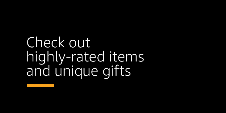 Check out highly-rated items and unique gifts.