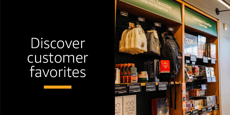 Discover customer favorites