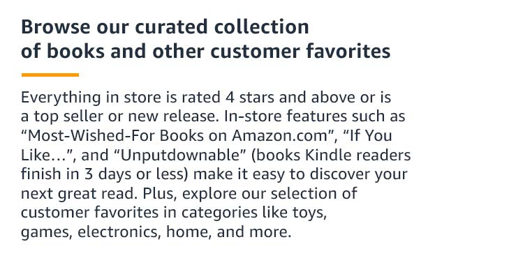 7b5f98f64d2f To help you discover your next great read, customers can shop our feature  sections like