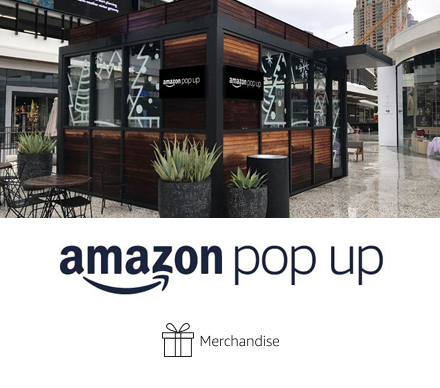 Amazon Pop Up