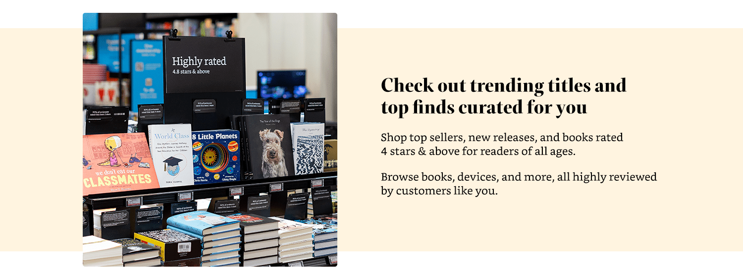 Check out trending titles and top finds curated for you