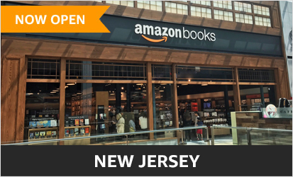Amazon books bookstores in seattle san diego portland boston chicago new york city and for Is garden state plaza open today