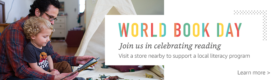 World Book Day -- Join us in celebrating reading. Visit a store nearby to support a local literacy program. Learn more now.