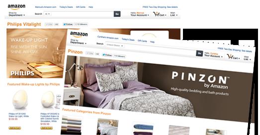 This is the Amazon Brand Store Hero Image